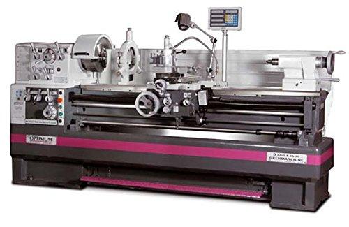 Optimum D 460x 2000-DPA-Drehmaschine + Digitalanzeige Position DPA 2000+ Regeln + Schnellwechselplatte