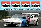 1/18 BMW M1 E26 PROCAR 1979 JONES MISSING SPONSOR DECALS TB DECAL TBD234