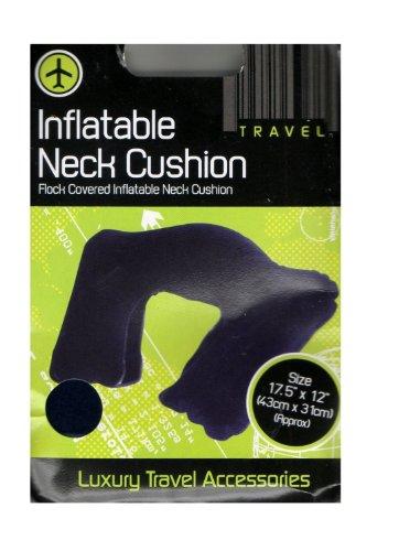 Luxury - Cuscino Gonfiabile per il Collo - Dimensione 44,5 cm x 30,5 cm