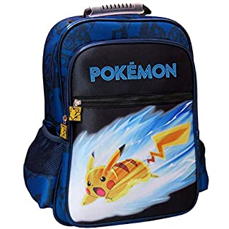51%2BbFoMe82L. SS324  - C Y P Mochila Adaptable A Trolley POKÉMON, (MC-252-PK)