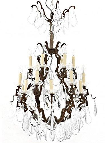 Casa Padrino Luxus Kronleuchter - Luxus Hängeleuchte Antik Messing