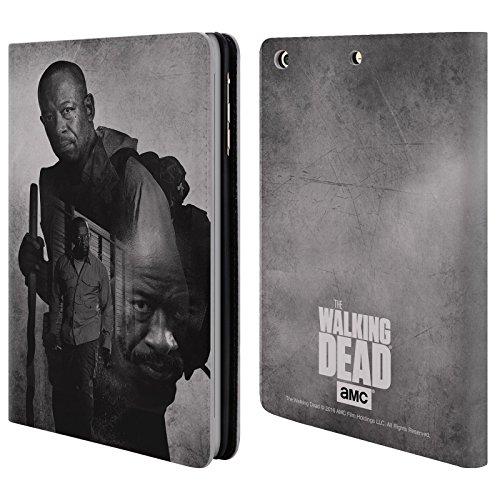 Ufficiale AMC The Walking Dead Morgan Doppia Esposizione Cover a portafoglio in pelle per Apple iPad mini 1 / 2 / 3