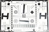 Testtafel für Auflösung und Repro 32x47cm