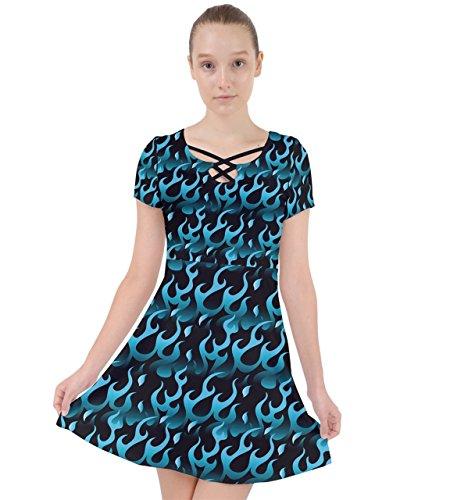 CowCow - Jupe - Femme bleu bleu Hot Blue