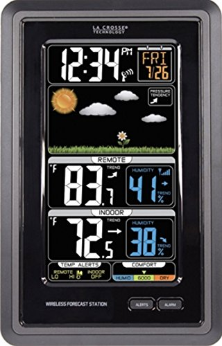 Estación previsión meteorológica vertical inalámbrica