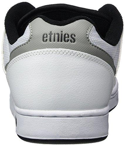 Etnies Herren Swivel Sneaker Weiß (White/Grey/Black)