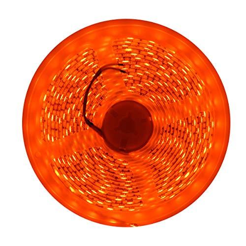 CORST wasserdichte orange LED 3528 SMD 300LED 5M/16FT flexibler heller Streifen 12V 60LED/M