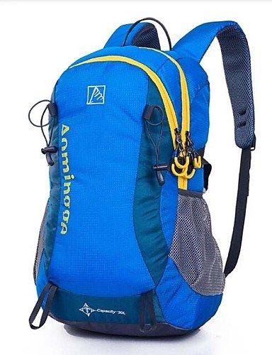 ZQ 35L L Rucksack Camping & Wandern / Reisen Outdoor Wasserdicht / Wasserdichter Verschluß / tragbar / Atmungsaktiv Grün / Schwarz / Blau rose red