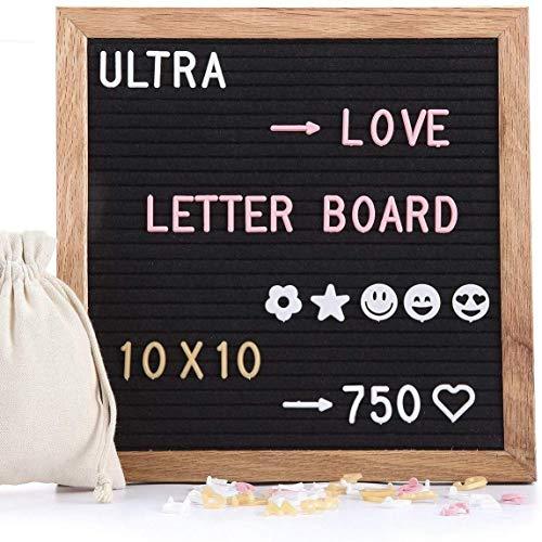 Tablero letras fieltro 510 letras reemplazables emojis