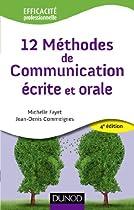 12 Méthodes de communication écrite et orale - 4ème édition