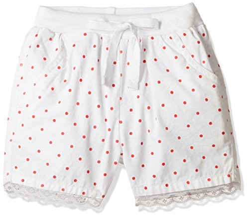 Gini and Jony Baby Girls' Shorts (152200362086 C101_Bright White_12-18 months)