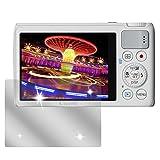 dipos I 6X Schutzfolie klar passend für Canon Powershot S200 Folie Displayschutzfolie