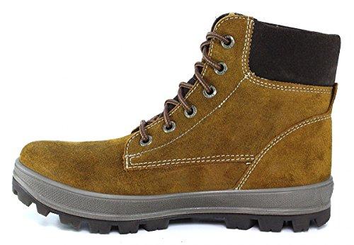 Superfit 300474 TEDD Jungen Hohe Sneakers Braun