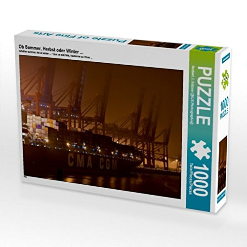 Ob Sommer, Herbst oder Winter ... 1000 Teile Puzzle quer
