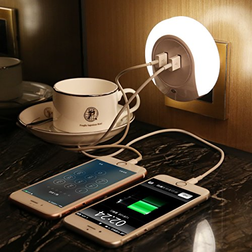 oke-lmpara-nocturna-con-sensor-de-luz-iluminacin-de-pared-luz-de-cama-cargador-usb-de-pared-con-2-us
