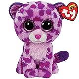 TY 36085 - Plüschtier Beanie Boos Glubschi, Glamour Leopard, pink