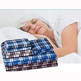 wefaner BettMatratze waschbar Bett Matte Reine Baumwolle mehrere Größen Farben Option für Eleordte Erwachsene Schwangere Frauen