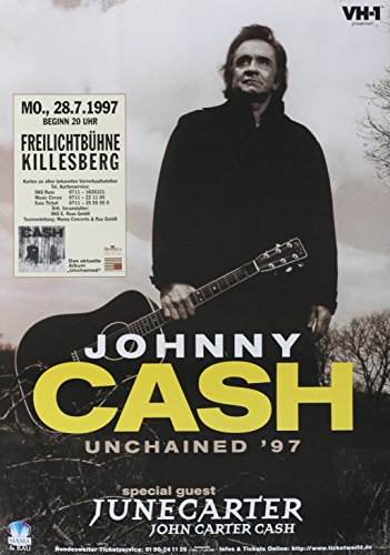 leonatica Johnny Cash 1997 Stuttgart Freilichtbühne Killesberg