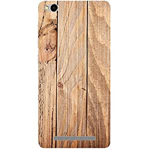 Casotec Wooden Texture Design 3D Printed Hard Back Case Cover for Xiaomi Redmi 3S