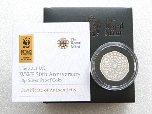 2011-wwf-world-wildlife-fund-50p-fifty-pence-silver-proof-coin-box-coa-by-the-royal-mint