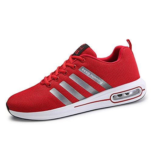 0435008b47d1b Uomo Scarpe da Ginnastica Corsa Sportive Fitness Air Running Sneakers Basse  Interior Casual all Aperto