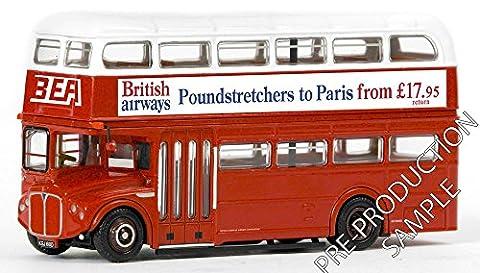 EFE - 1/76 Scale Bus 38126 - Airport Routemaster B.E.A. - Paris Poundstretchers