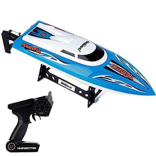 gearbest-udi-002-24gh-high-speed-30km-h-rc-boot-mit-wasser-kuhlsystem-brushed-motor-blau