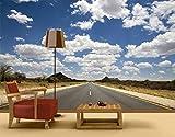 Selbstklebende Fototapete Route 66 Tapete USA Amerika Straßen Highways Freiheit, Größe:270cm x 72cm