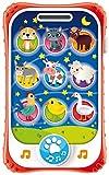 Lisciani Giochi- Carotina Baby Touch Phone Ninna Nanna 2 in 1, 65479.0