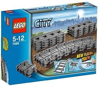 LEGO City 7499 - Flexible Schienen, Zugspielzeug-Zubehör (B0042HOU1W) | Amazon price tracker / tracking, Amazon price history charts, Amazon price watches, Amazon price drop alerts