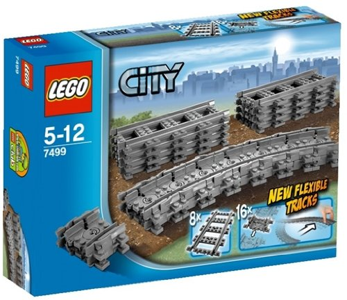 Lego - 7499 - City Trains - Binari flessibili