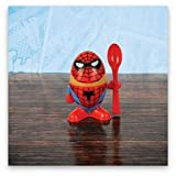Marvel Comics Spiderman Eierbecher und Toastschneide
