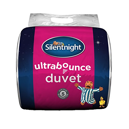 Silentnight Ultrabounce 4.5 Tog Duvet, White, Single