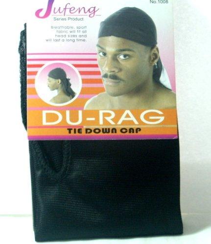Sports Durag pour homme Taille unique - Noir