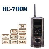 hc-700m Jagd Trail Kamera 16MP HD 1080P Infrarot-Nachtsicht Wildlife Kamera Zeitraffer 5,1cm Farbe LCD Display 2G SMS MMS SMTP Jagd Pfadfinder Überwachungskamera