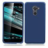 TBOC® Blau Gel TPU Hülle für Vodafone Smart Platinum 7
