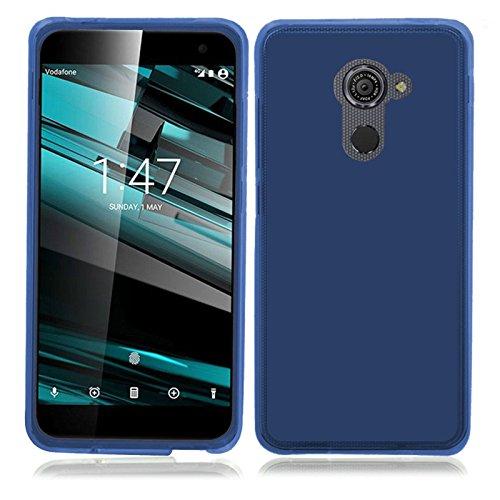 TBOC® Blau Gel TPU Hülle für Vodafone Smart Platinum 7 (5.5 Zoll) Ultradünn Flexibel Silikonhülle