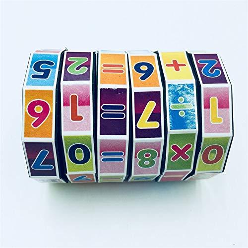 ExcLent Lernwerkzeug Kinder Mathematik Puzzle Für Lernen Hinzufügen Subtrahieren Multiplizieren Teilen Zahlen Kinder Math Game Geschenkform