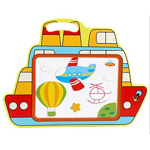 ifunktionale Magnettafel Kinder Kunst Staffelei Kinder Graffiti Puzzle Board für Heim und Büro ()