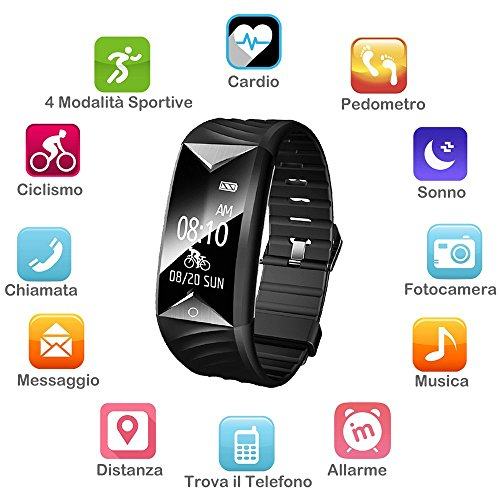 Zoom IMG-1 willful orologio fitness tracker watch