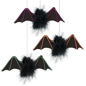 Amscan-241824casa encantada poco murciélagos