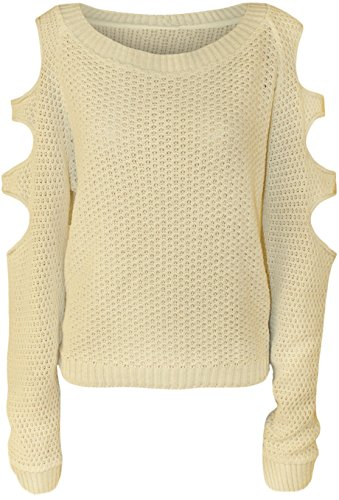 Comfiestyle - Sweat-shirt - Pull - Femme Crème