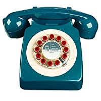 Wild Wood 746 Petrol Telephone - Blue