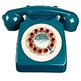 Téléphone rétro - 746 Classic Phone Petrol Blue