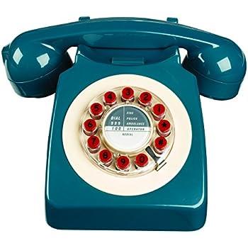 Téléphone rétro - 746 Classic Phone Petrol Blue: Amazon.fr