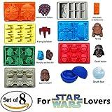 Teenitor Innovative Eiswürfel für Star Wars-Liebhaber