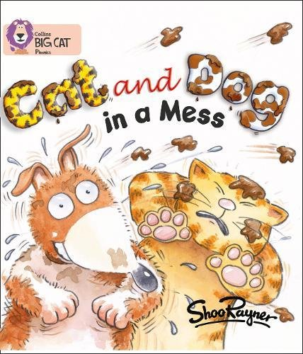 Cat and Dog in a Mess