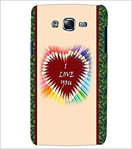 PrintDhaba Quote D-3779 Back Case Cover for SAMSUNG GALAXY ON 5 (Multi-Coloured)