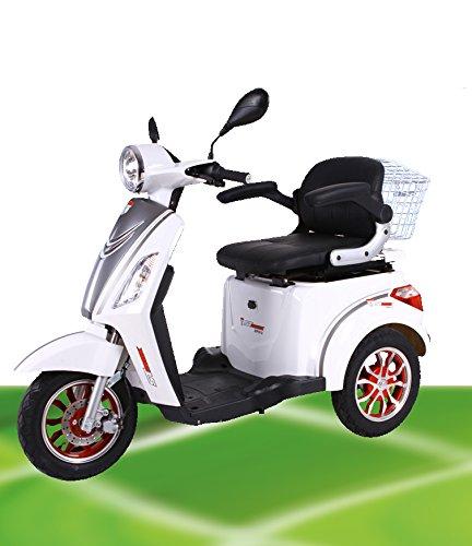"""Preisvergleich Produktbild 800W ElektroMobil Modell: """"Allen 3"""" bis 10-15-25km/h ElektroScooter Senioren Mobility Vehicle Dreirad ElektroRoller Sonder Modell 2018!"""