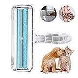 Etmury Fusselrolle, Fusselbürste Tierhaarentferner für Hund und Katze, Tierhaar Roller Wiederverwendbar, Effektiv für Möbel, Bettwäsche, Couch, Teppich und mehr